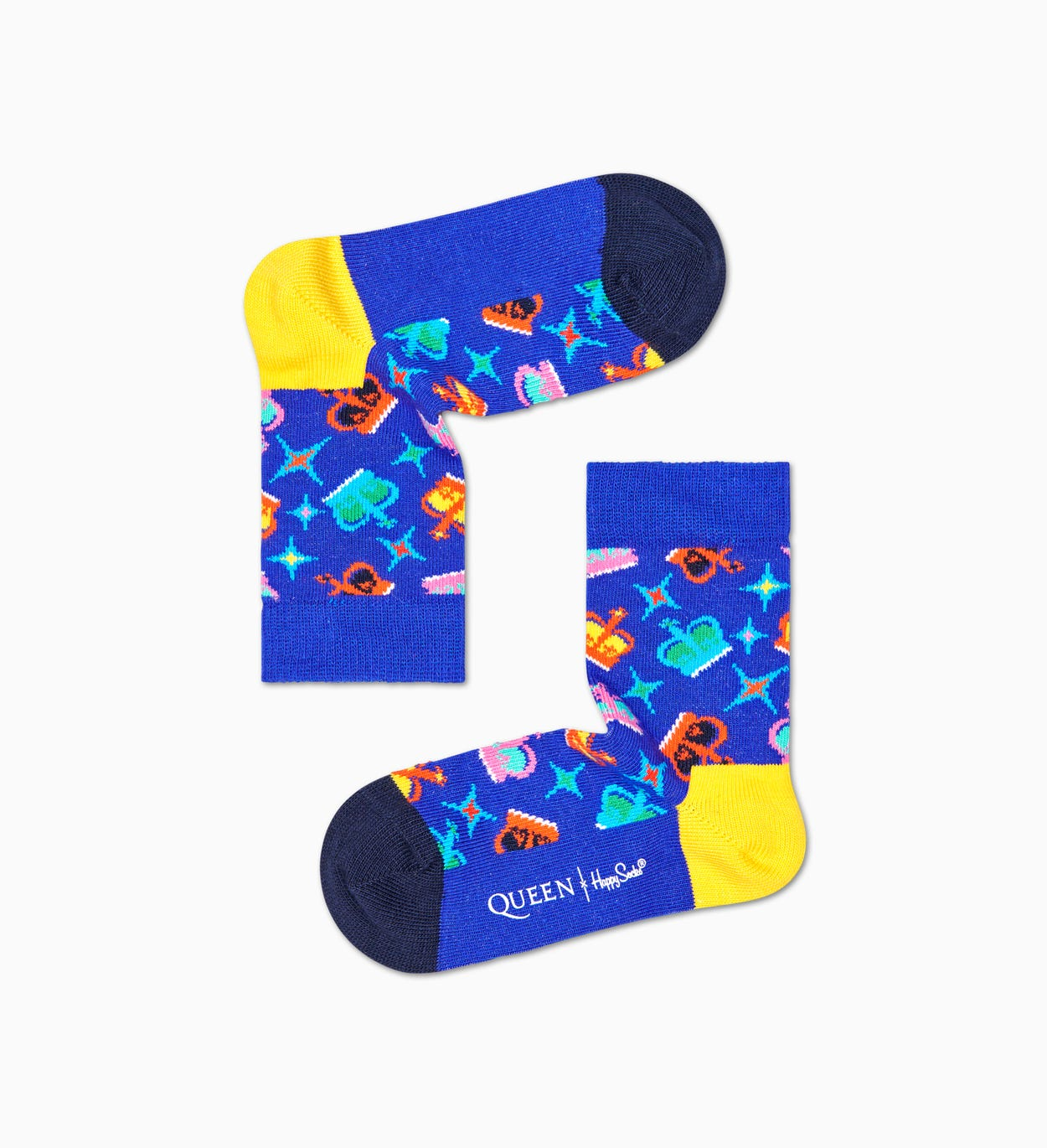 Calze Crown per bimbi | Queen x Happy Socks
