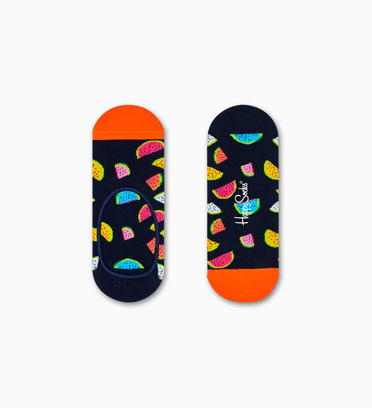 Watermelon Liner Sock, musta | Happy Socks