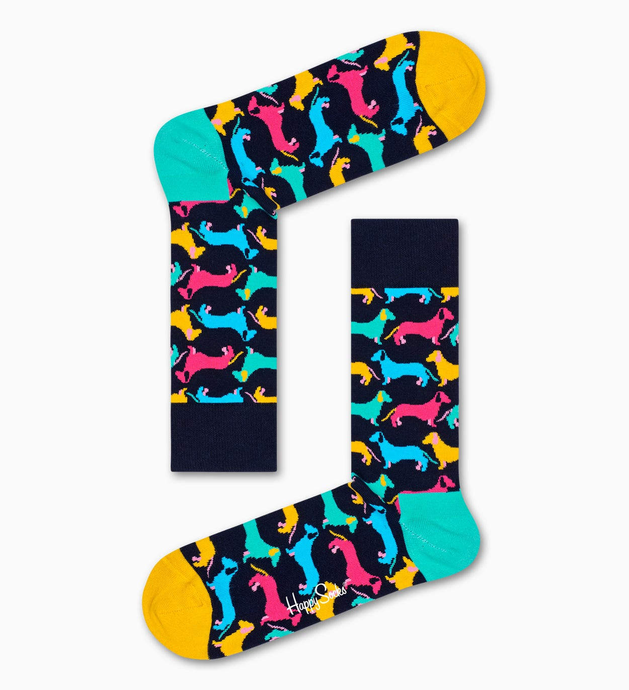Dog Socks, Black | Happy Socks