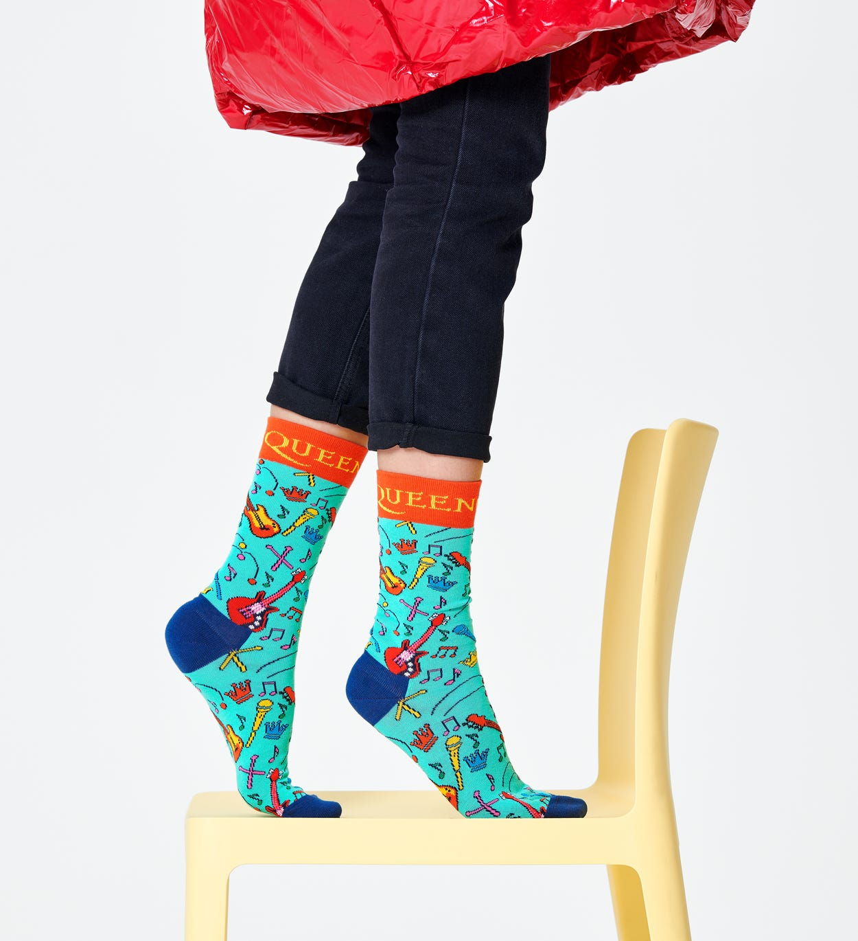 Queen x Happy Socks: The Works ソックス