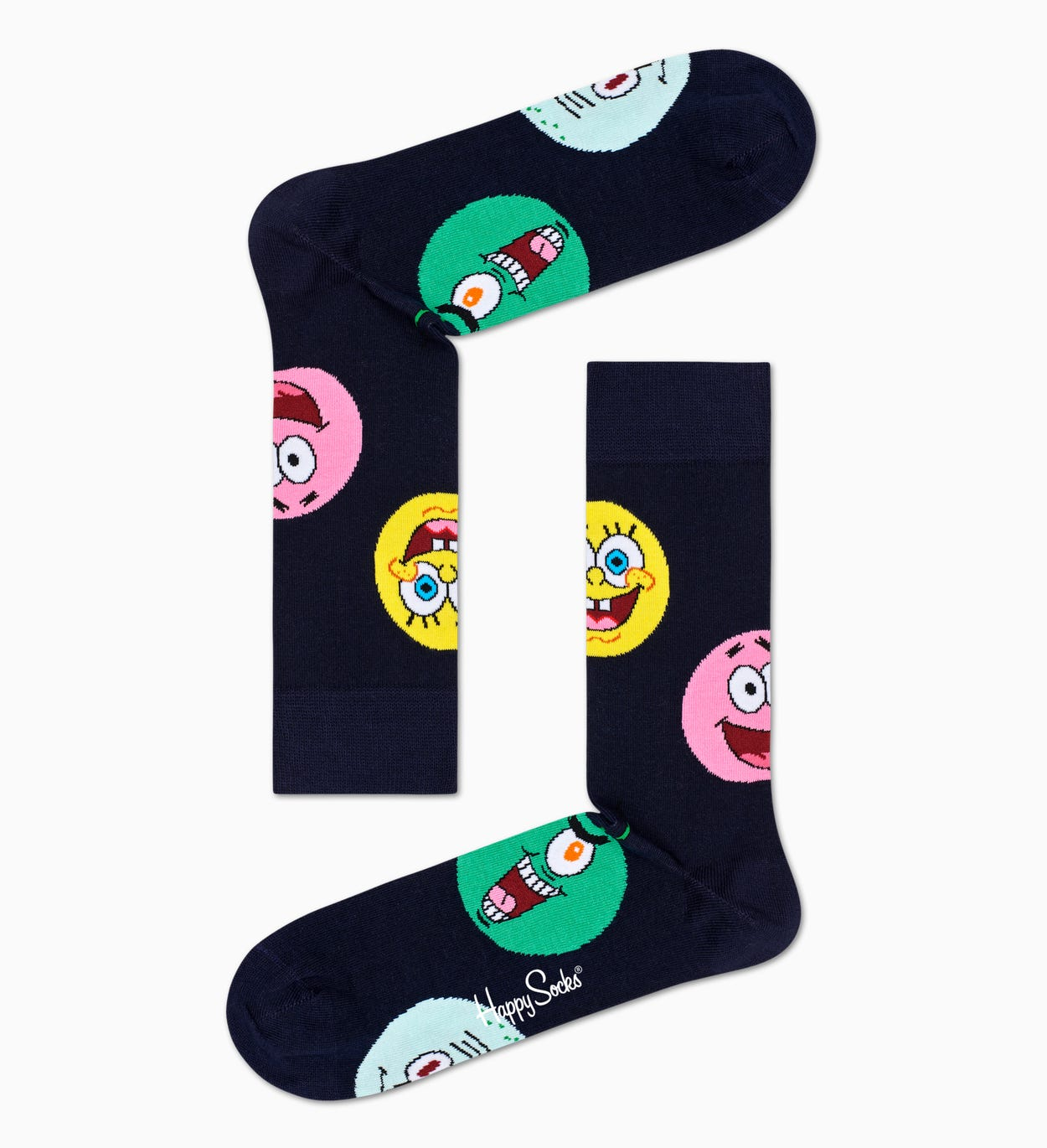 Happy Socks x Sponge Bob: Circle Of Friends Socken