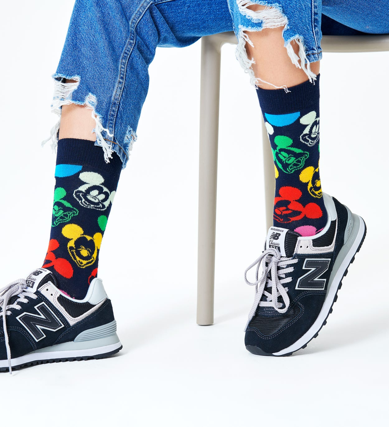 Disney x Happy Socks: Colorful Character Sock