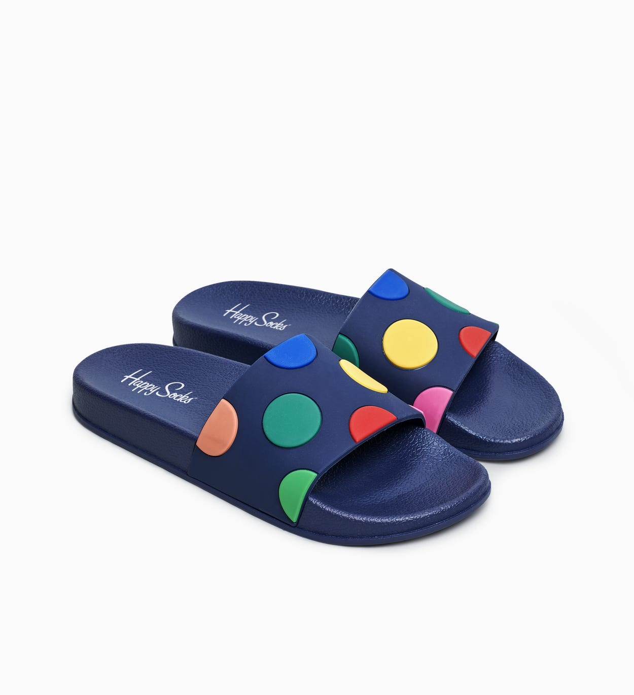 Pool Slider Dot, Blue | Happy Socks