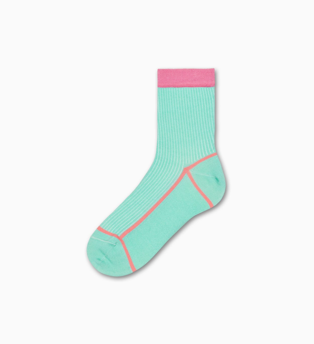Mint ankle socks: Lily | Hysteria by Happy Socks