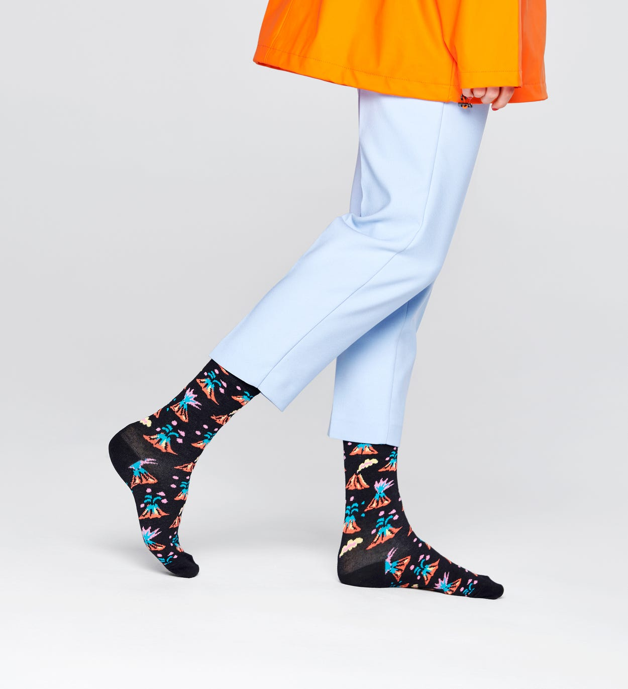 Volcano Socks, Black | Happy Socks