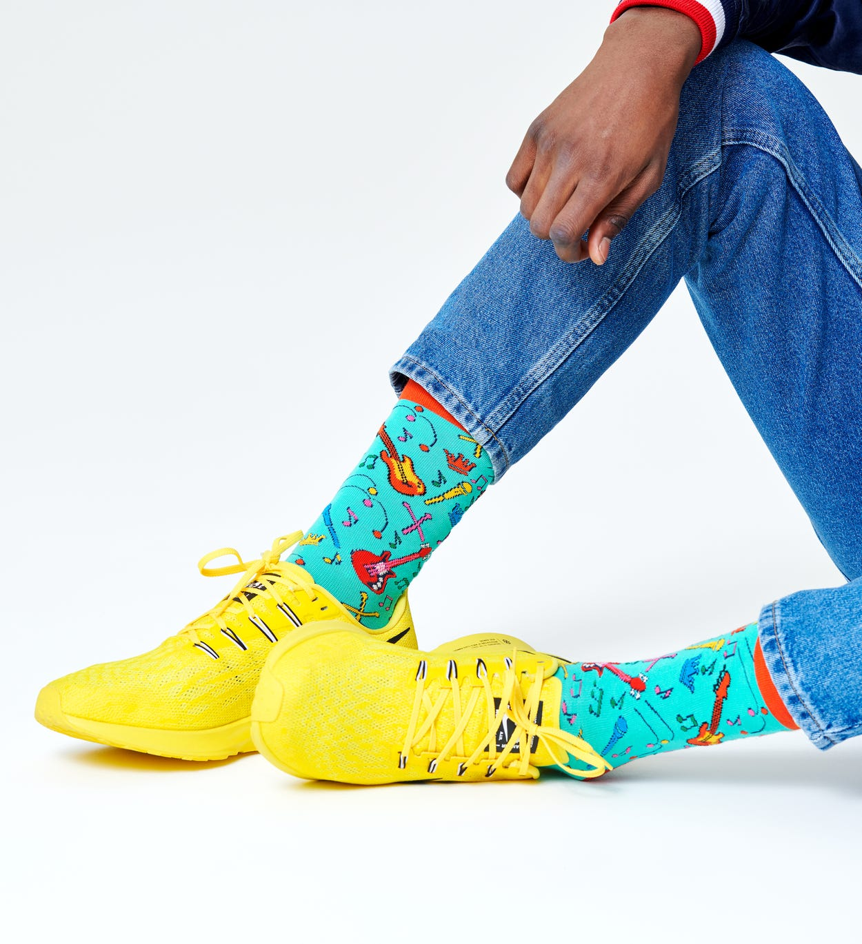 Queen x Happy Socks: The Works Sokken
