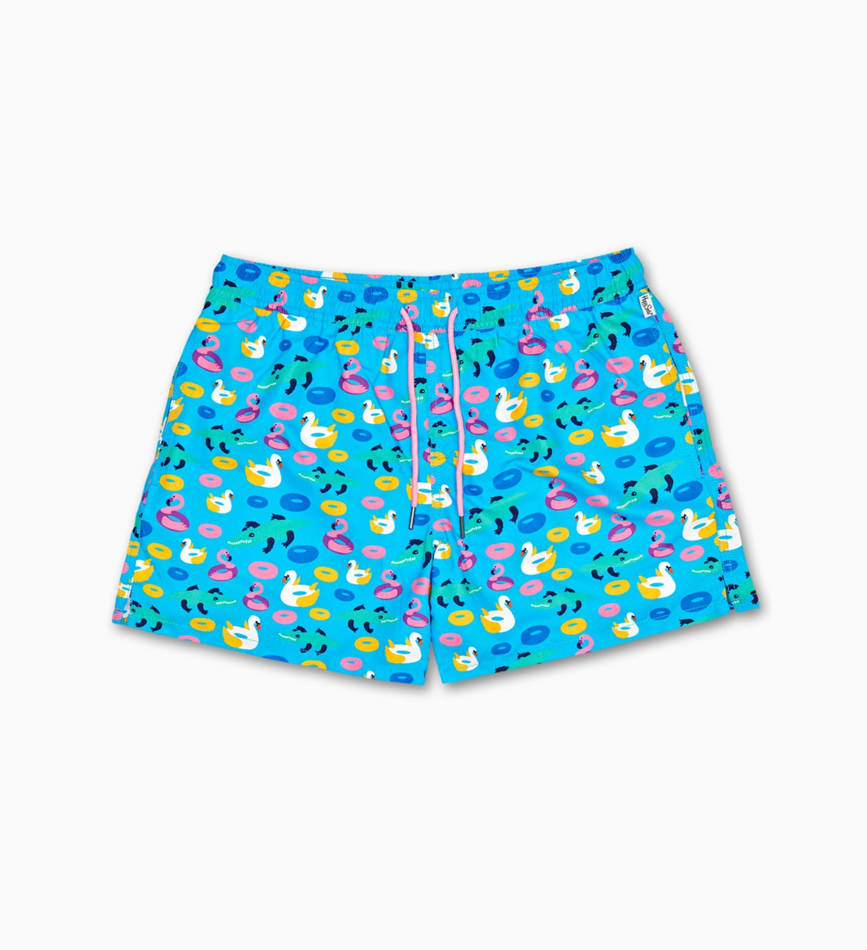 Herren Badeshorts: Pool PartyMuster | Happy Socks
