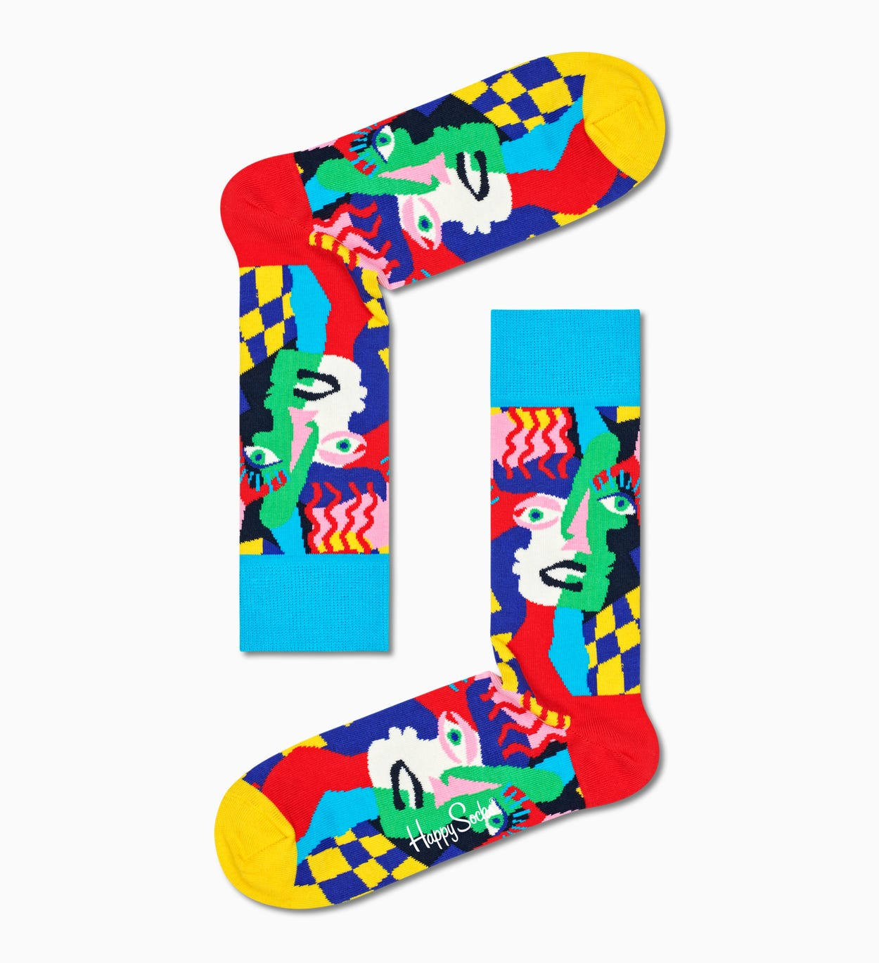 Multicolor The Cubist Box 3-Pack| Happy Socks