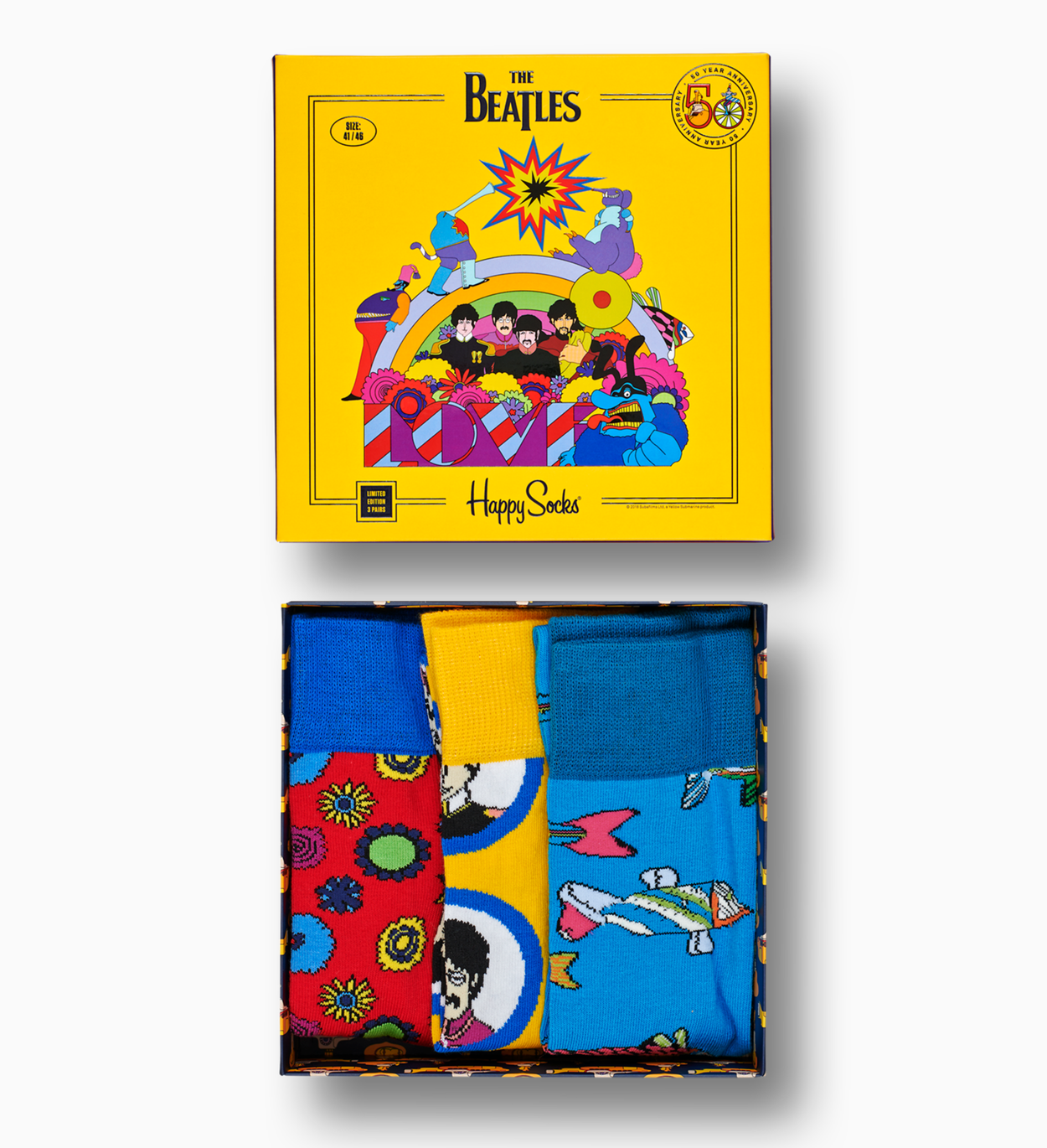The Beatles Socks Box Set