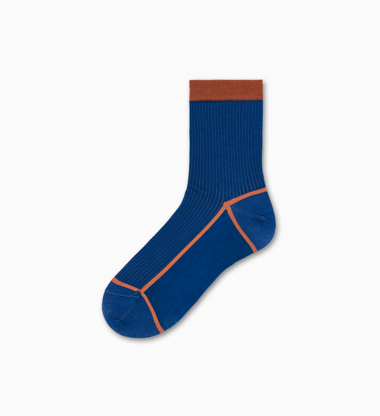 Blaue Ankle Socken: Lily - Hysteria | Happy Socks