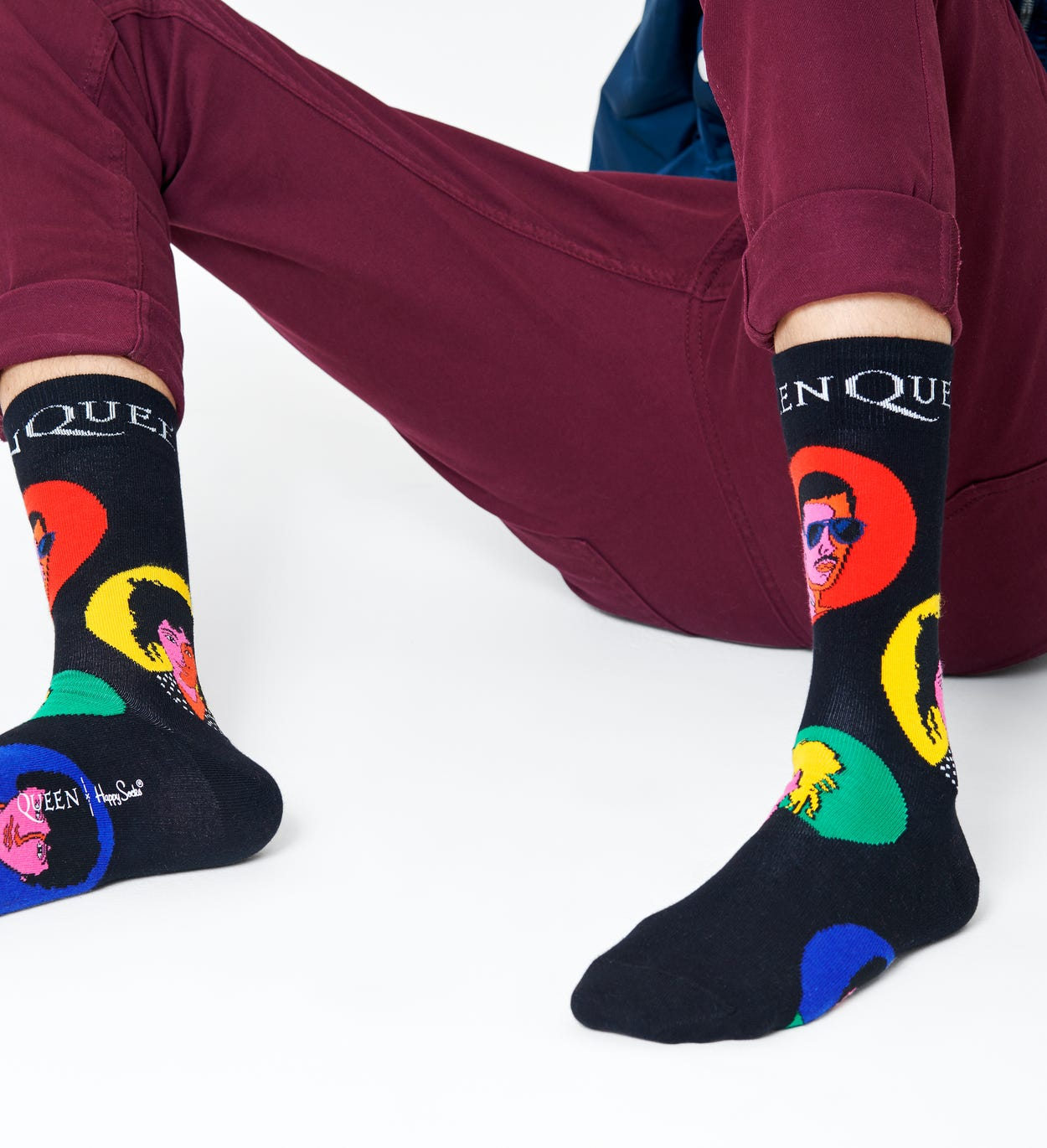 Queen x Happy Socks: Queen Socken