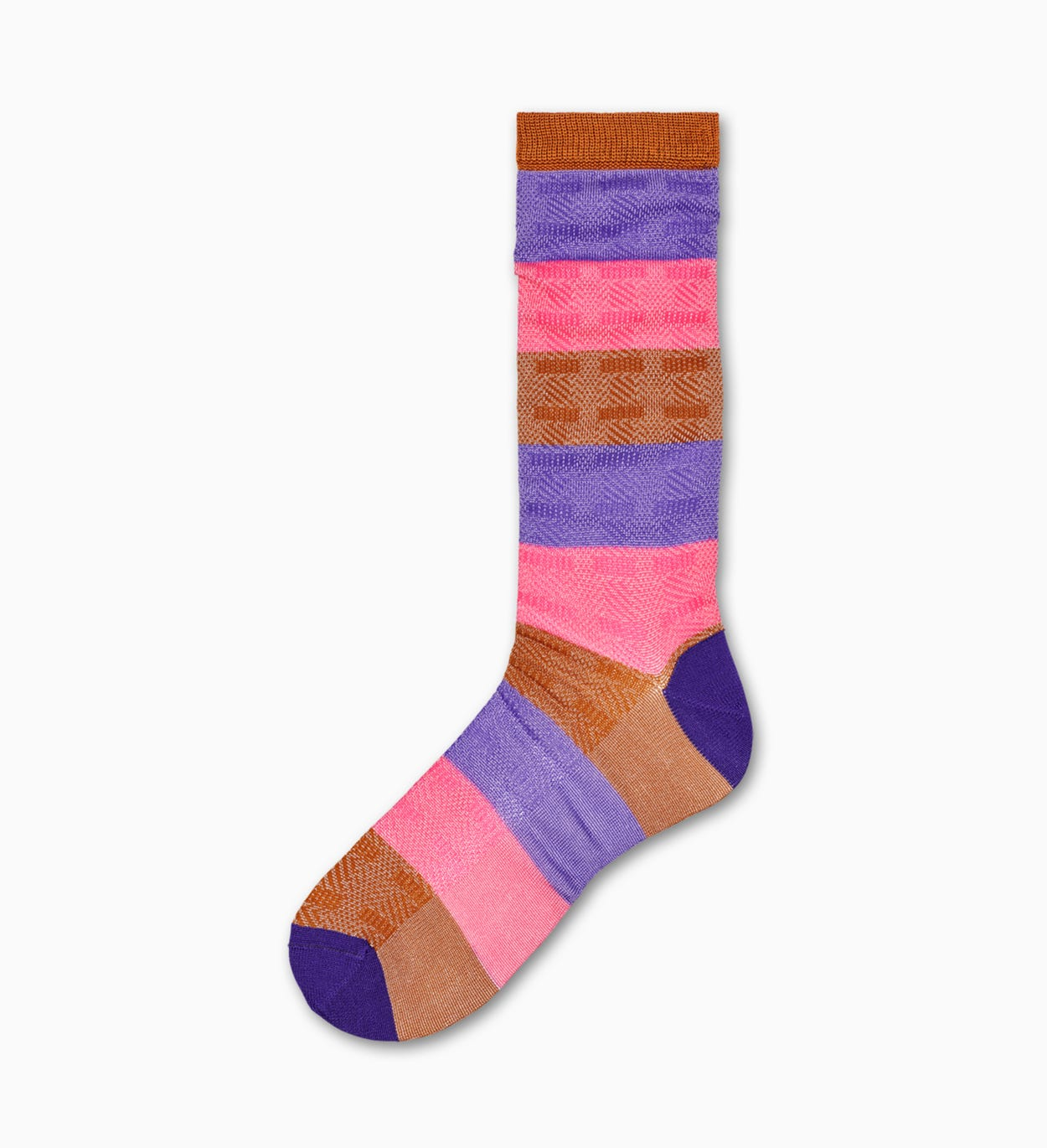 Pink mid high socks: Myggan | Hysteria by Happy Socks