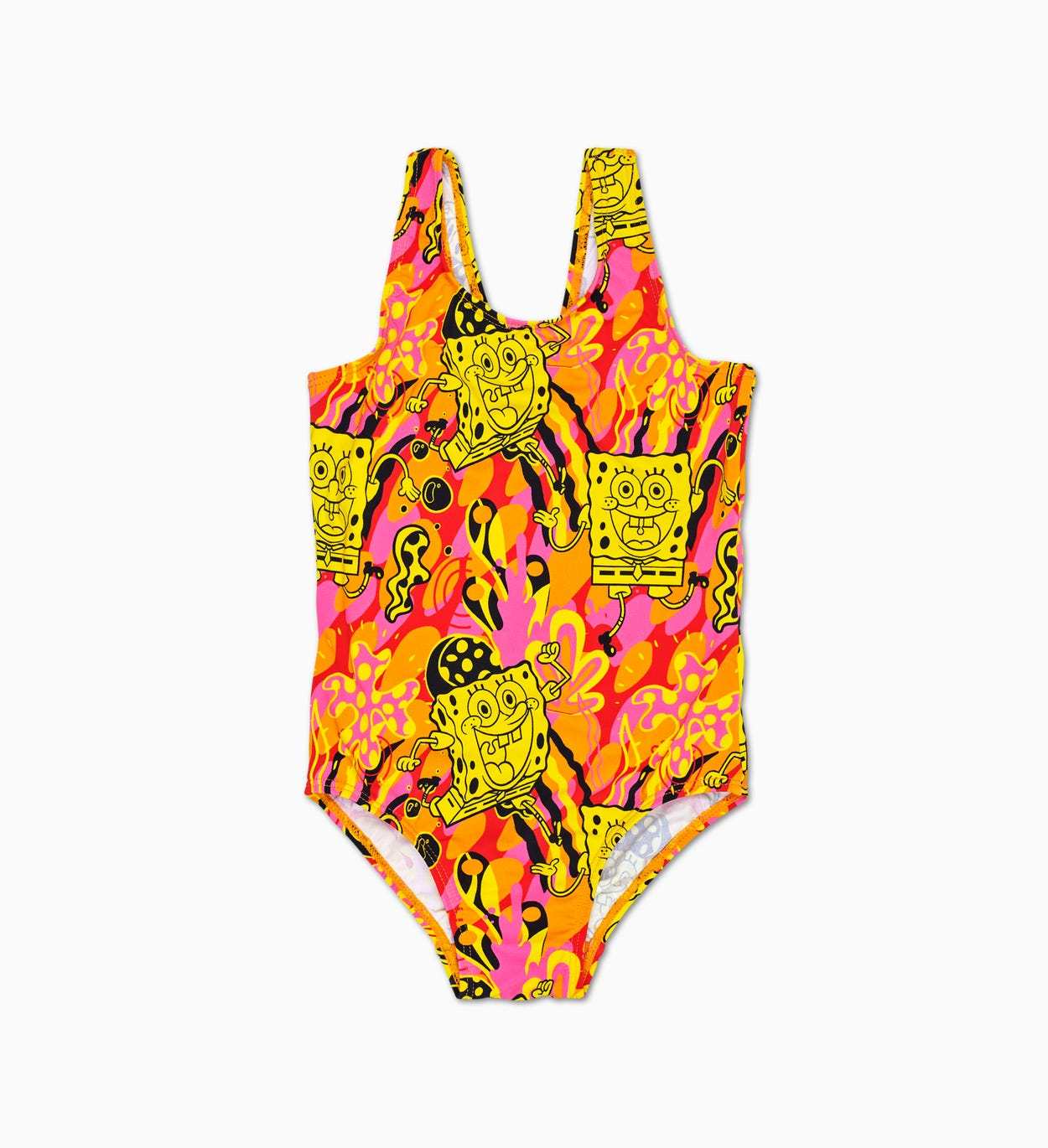 Kids SpongeBob Orange Swimsuit