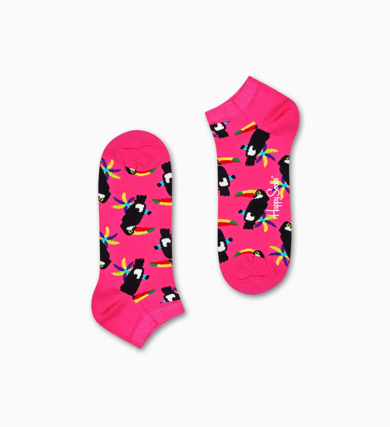 Toucan Low Socks, Pink | Happy Socks