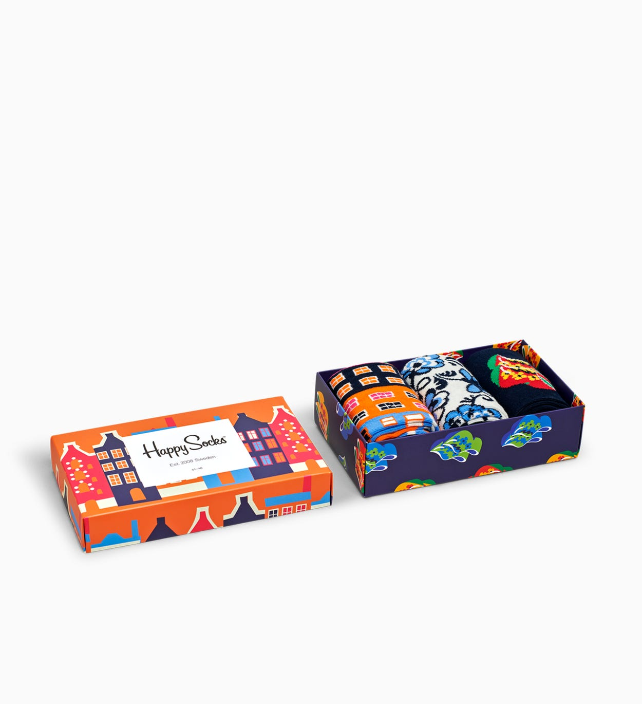Dutch Edition Socks Gift Box 3-pc | Happy Socks