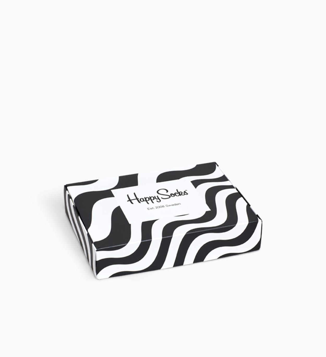 Wavy Stripe Flat Pack 2er-Packung | Happy Socks