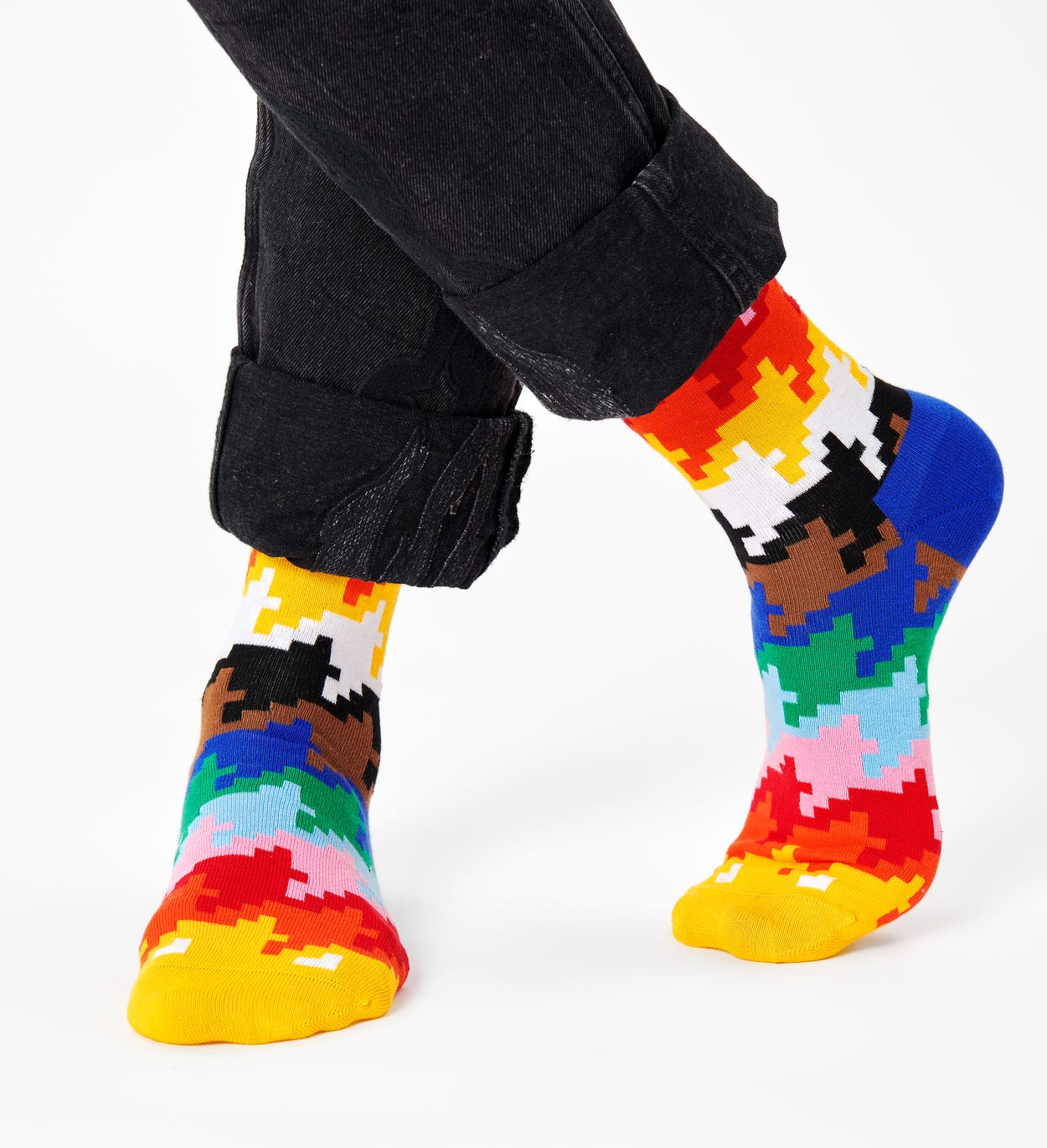 Dog Tooth Socken | Happy Socks