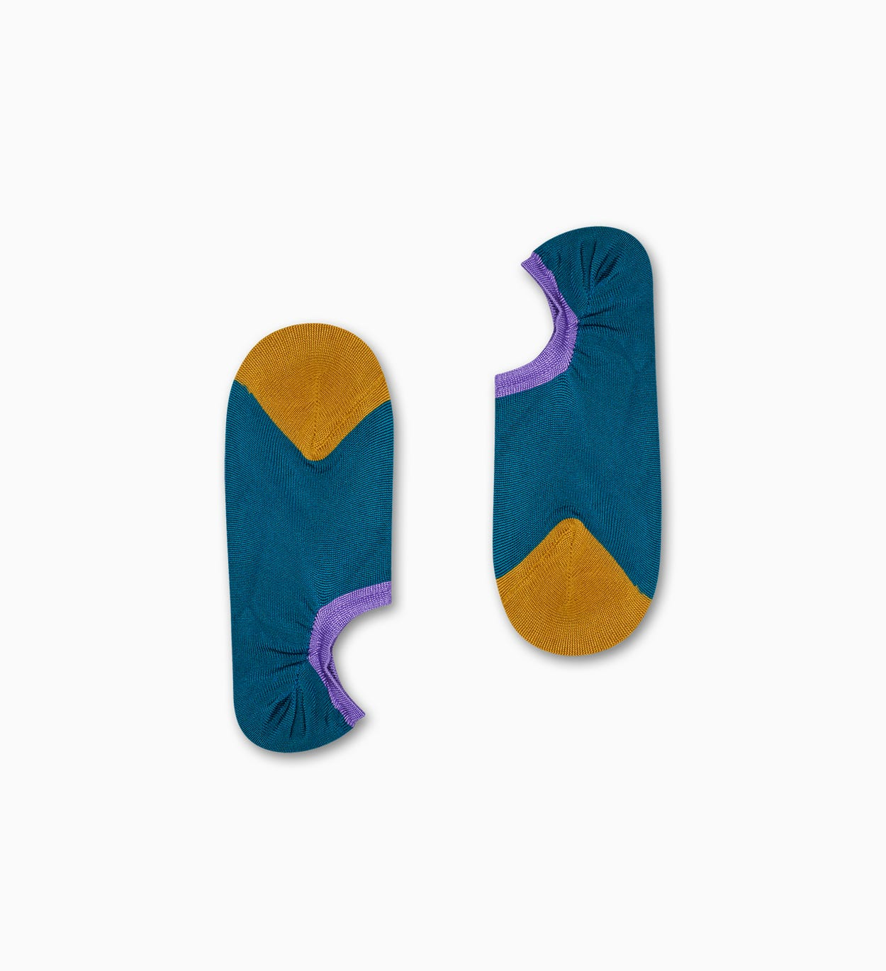 Gry Invisible Sneaker Socks, Teal - Hysteria | Happy Socks