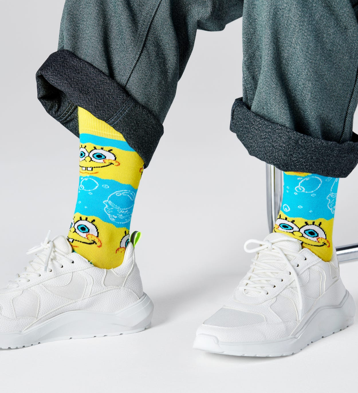 SpongeBob Say Cheese Sock