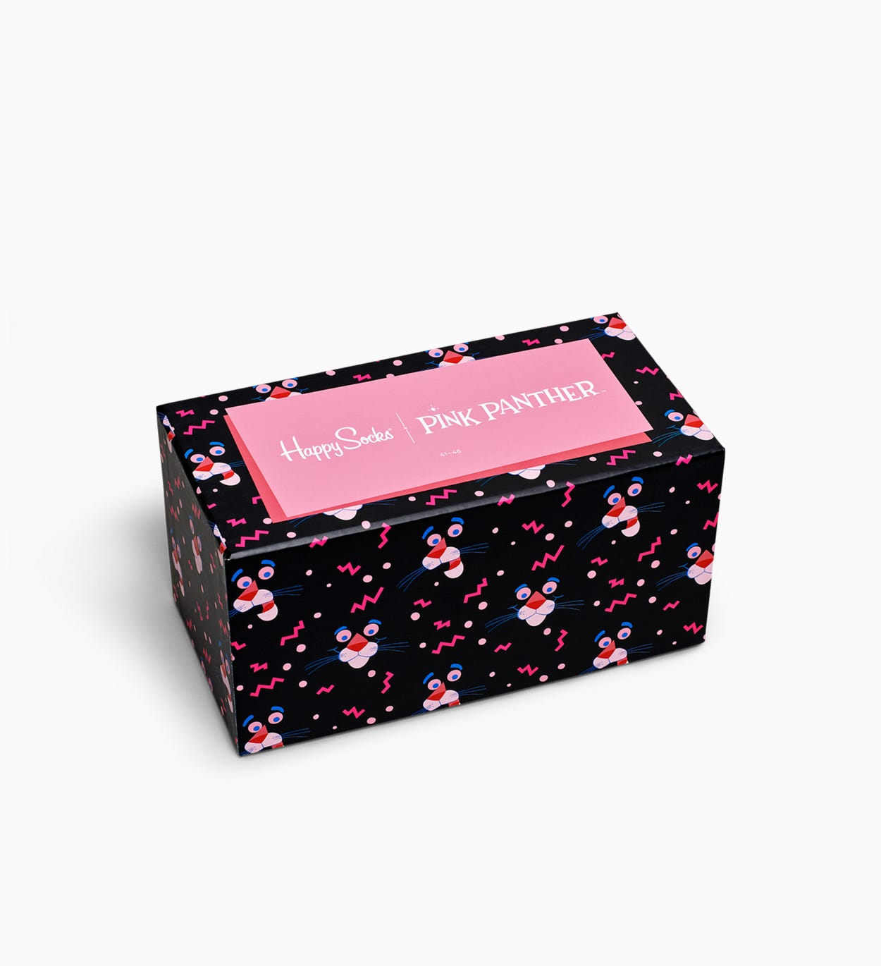Happy Socks x Pink Panther Sokken Collector Box 6st