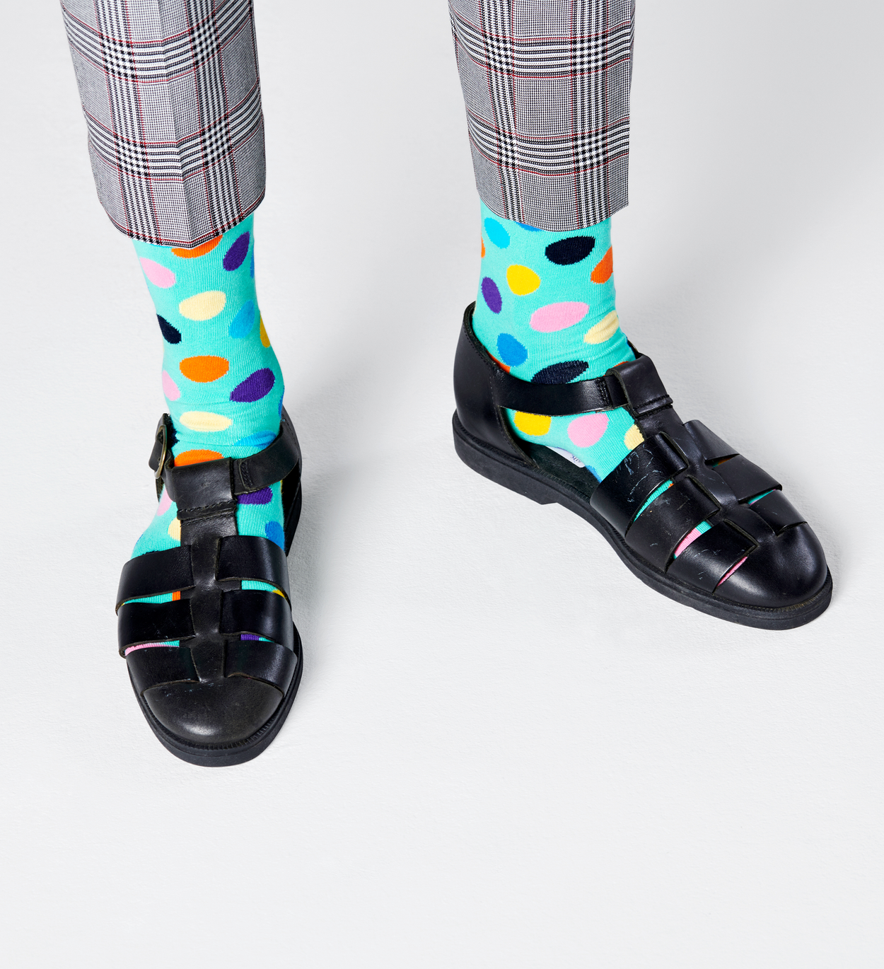 Big Dot Socks, Blue | Happy Socks