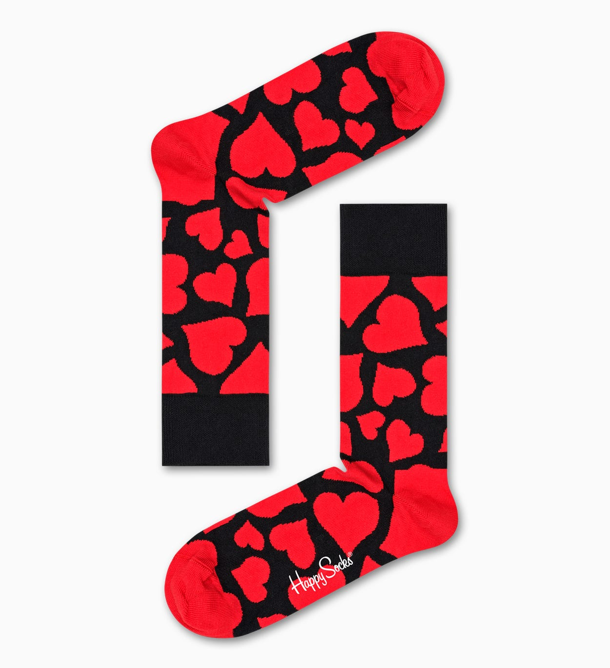 Valentine's Day Gift: Heart Gift Box 2-Pack | Happy Socks