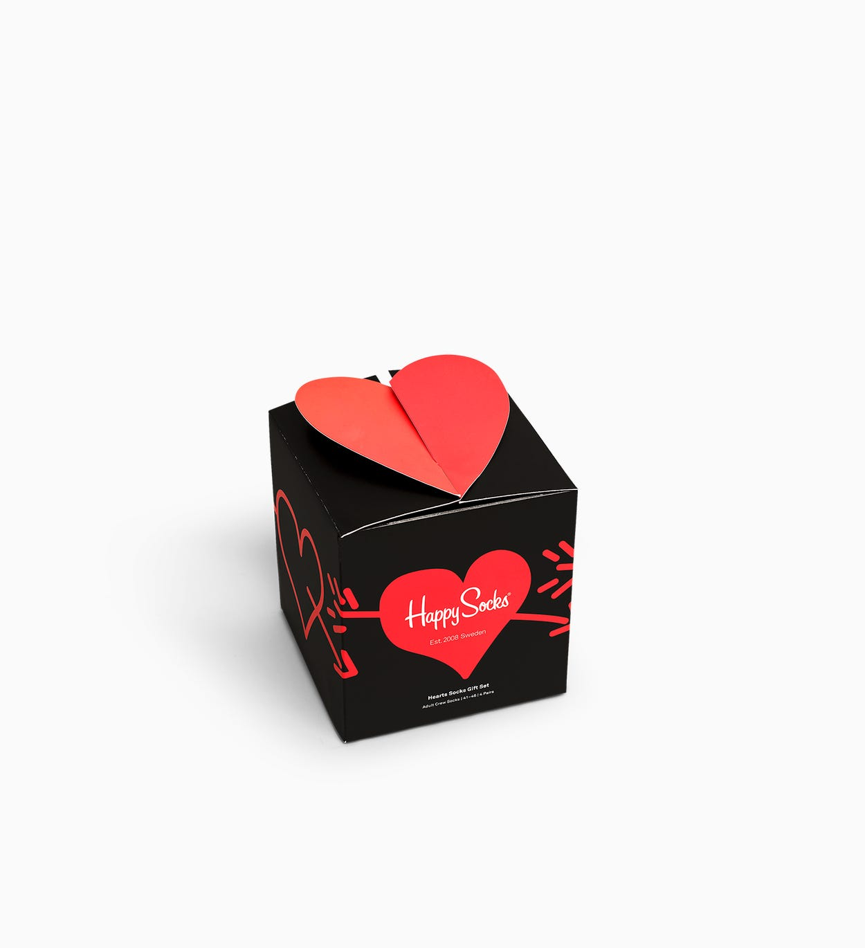 Heart Gift Box 4-Pack