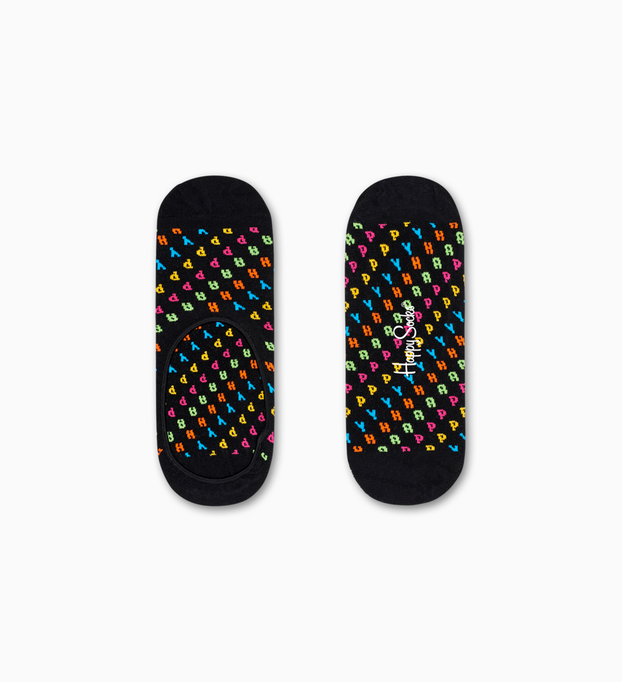 Chaussettes invisibles Noires: Happy | Happy Socks