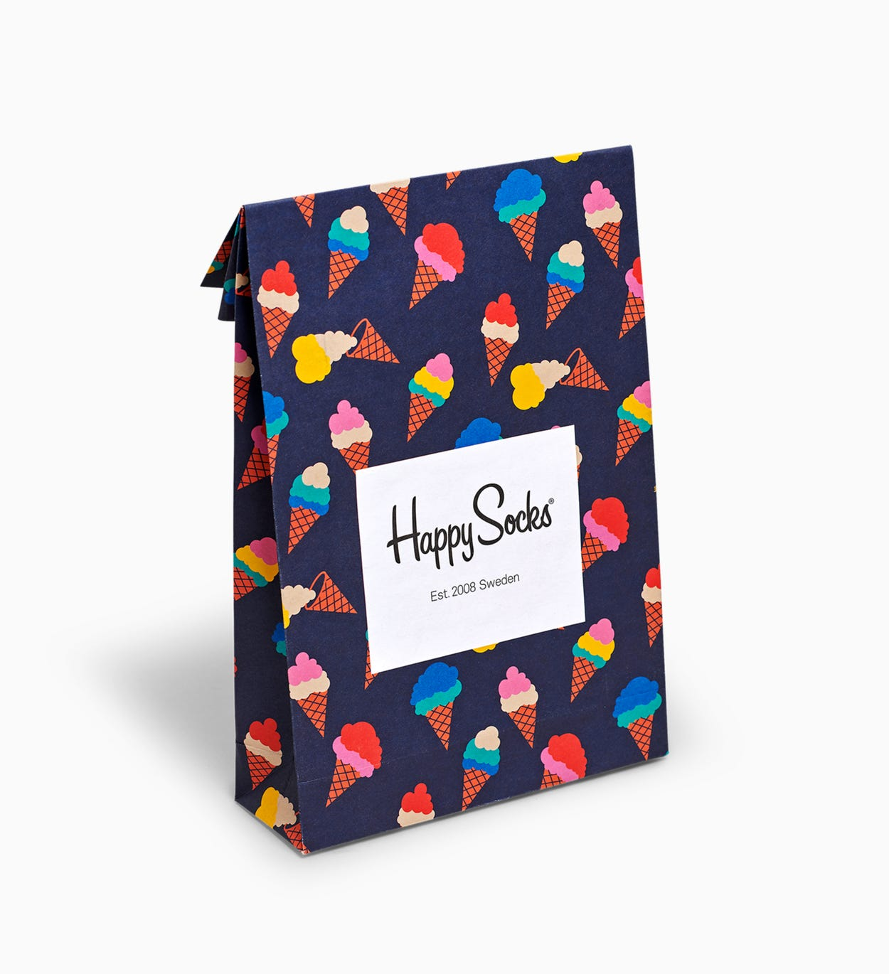 Gift Bag for Gift wrapping: Ice Cream | Happy Socks