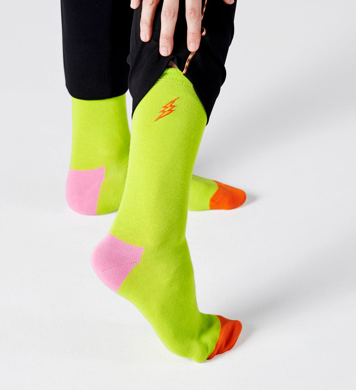 Embroidery Flash Sock