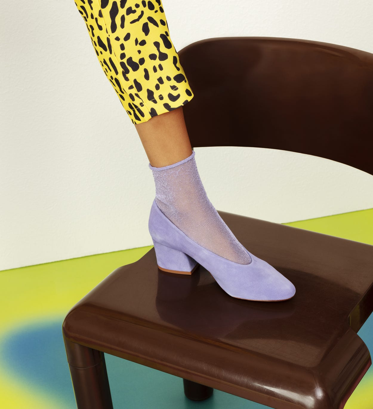 Purple Ankle Socks: Emma - Hysteria | Happy Socks