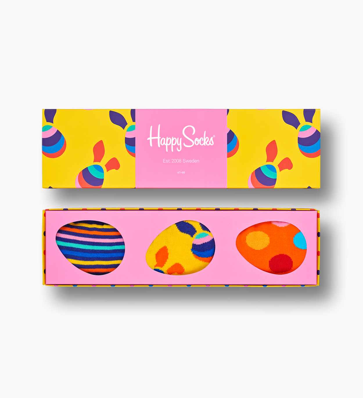 Easter Gift Box with colorful socks | Happy Socks