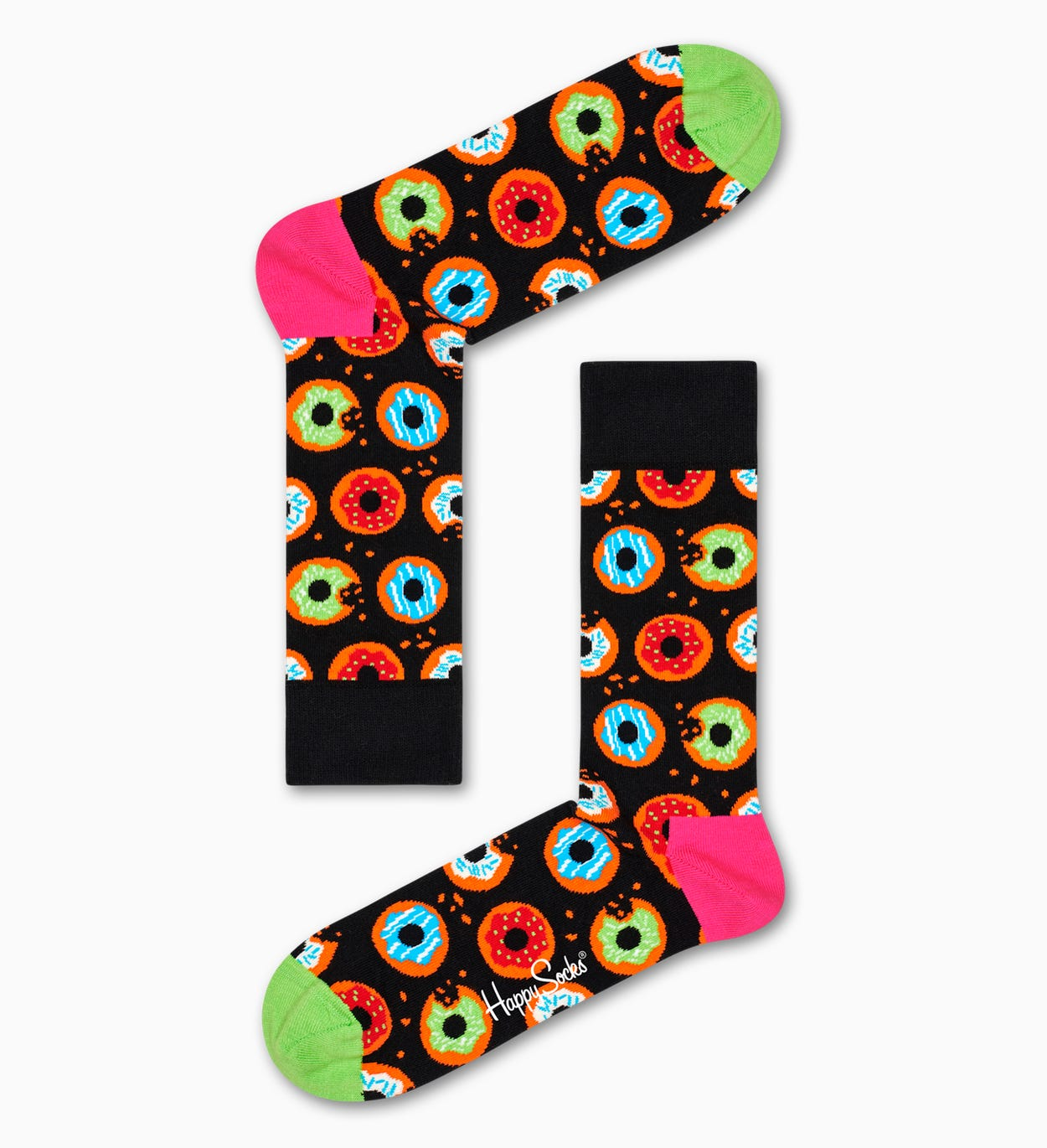 Donut Socks, Black | Happy Socks