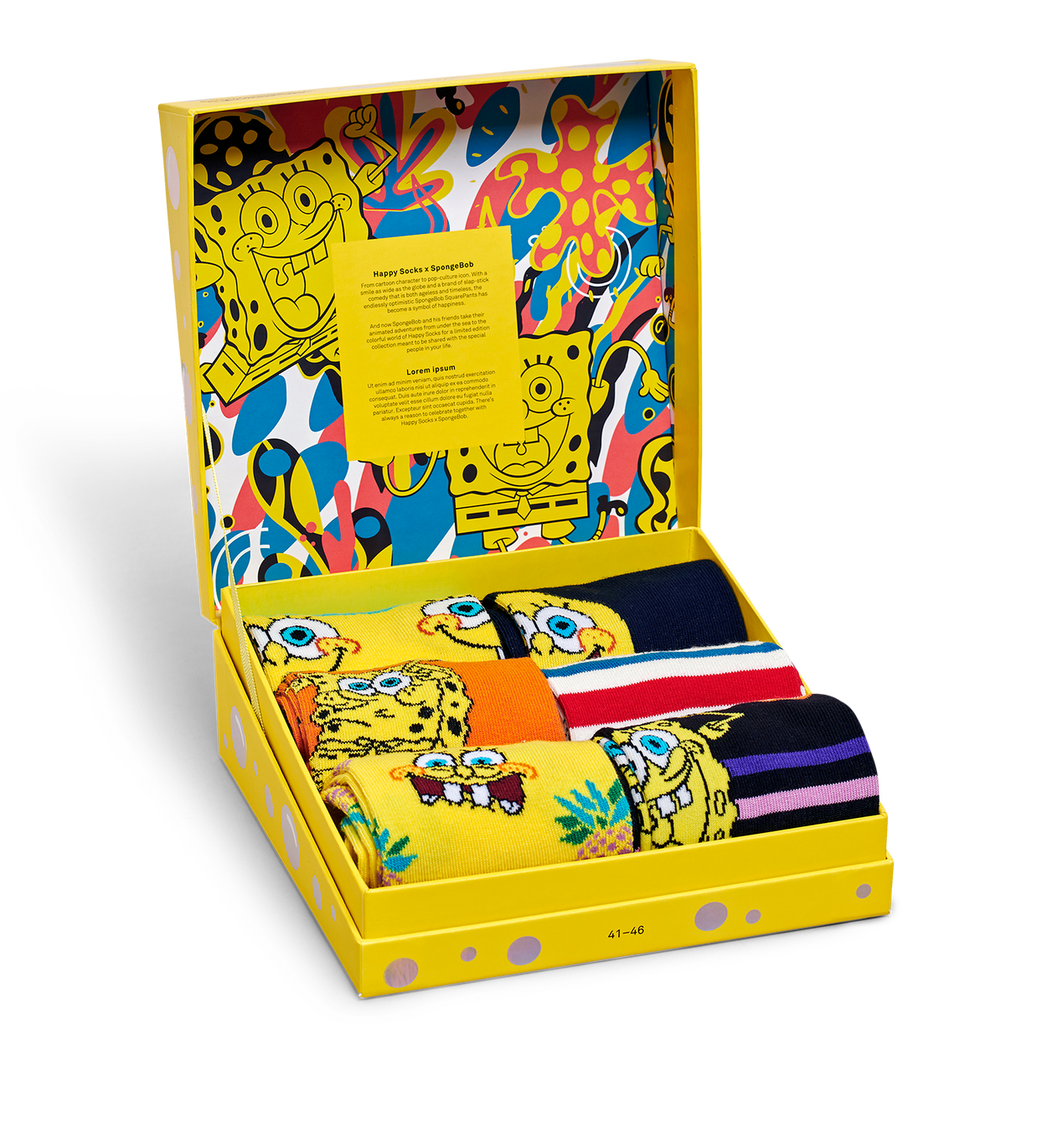 SpongeBob 6-Pack Gift Box