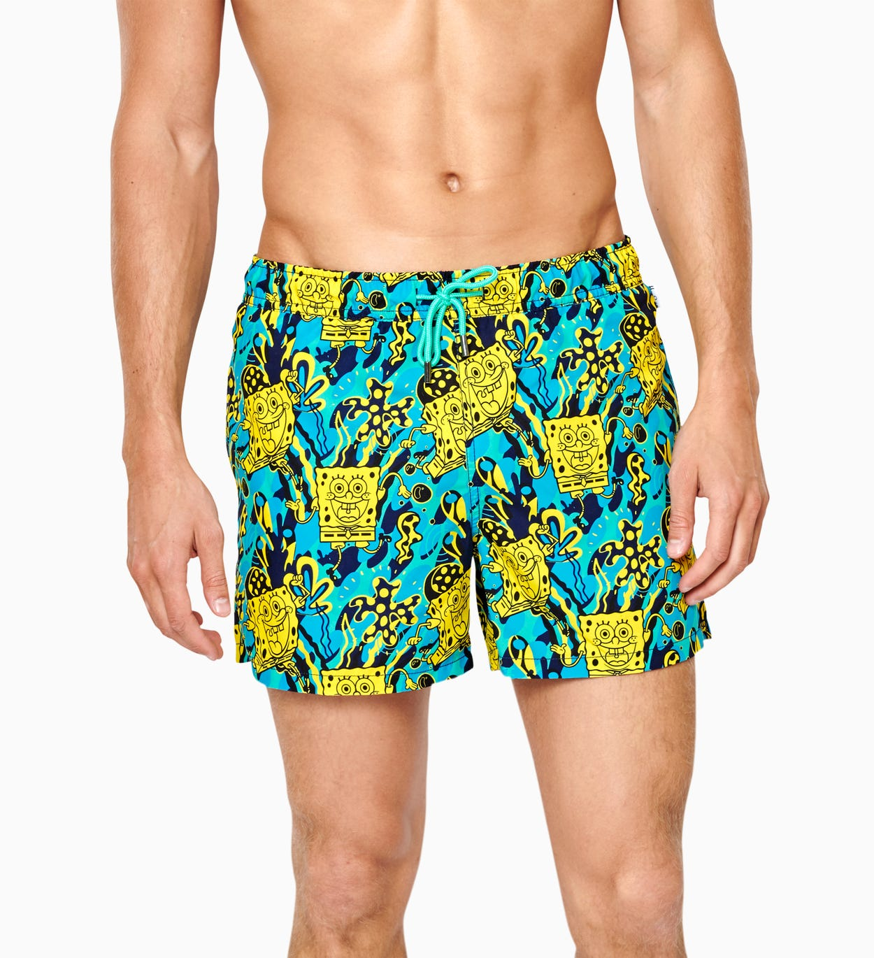 SpongeBob Yellow Swim Shorts