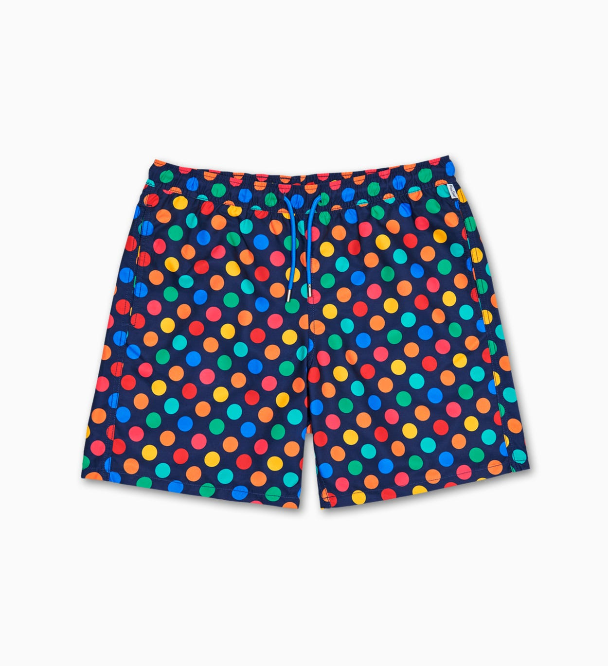 Big Dot Long Swim Shorts