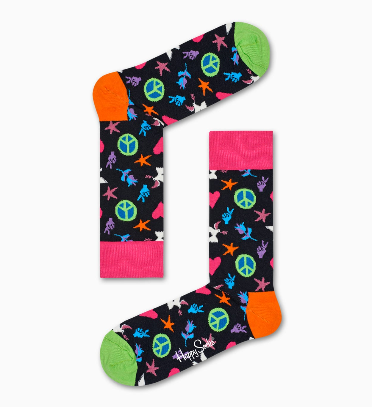 Peace And Love Sock