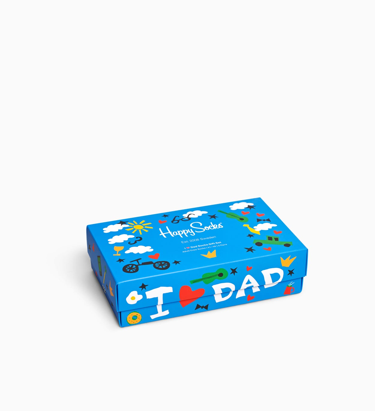 Father's Day Gift Box, Blue | Happy Socks