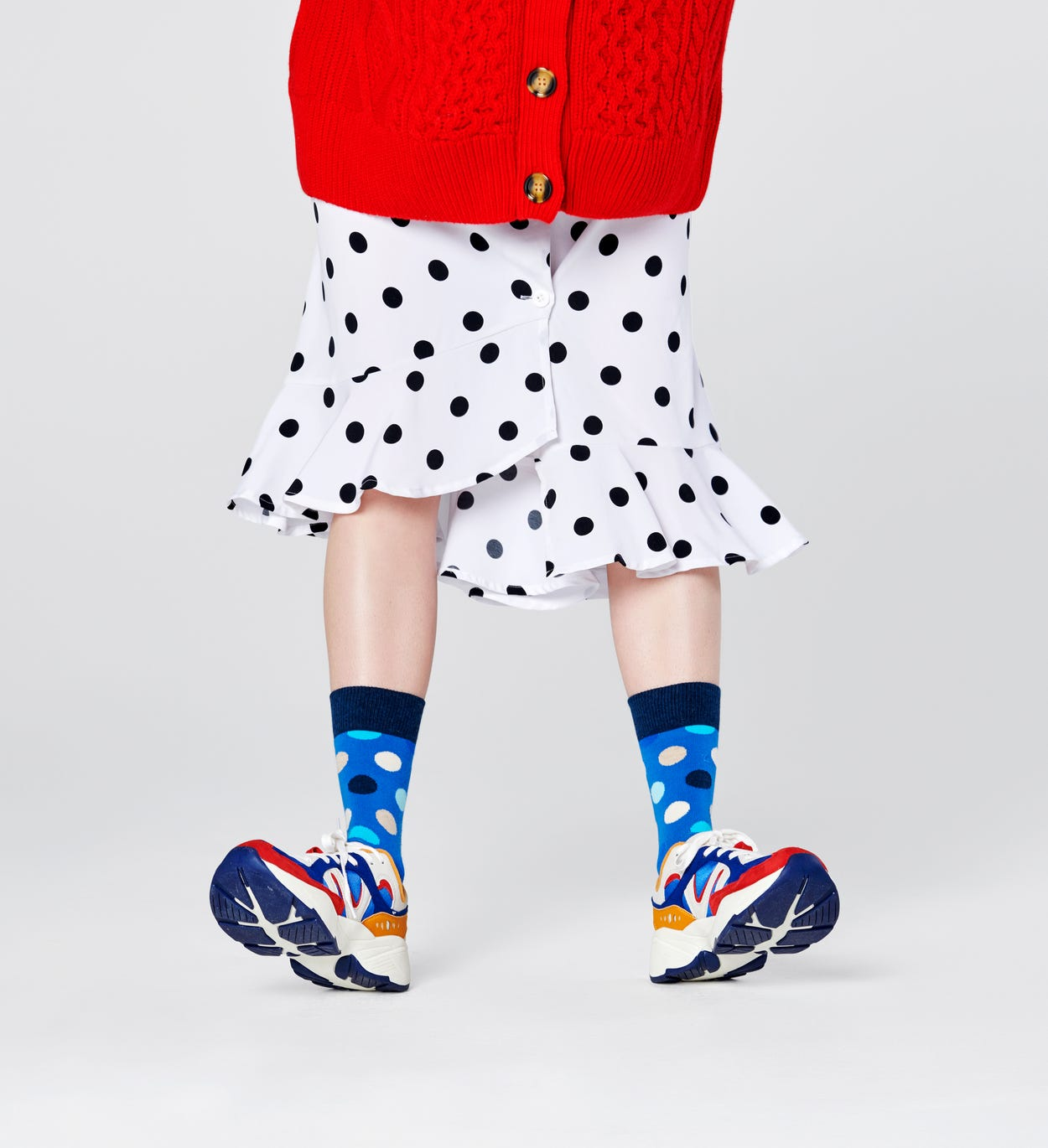 Big Dot Socken, Blau | Happy Socks