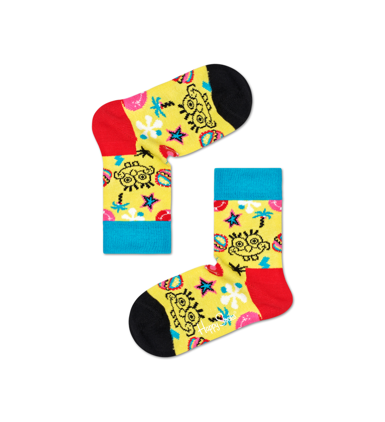 Kids SpongeBob Smile Storm Sock
