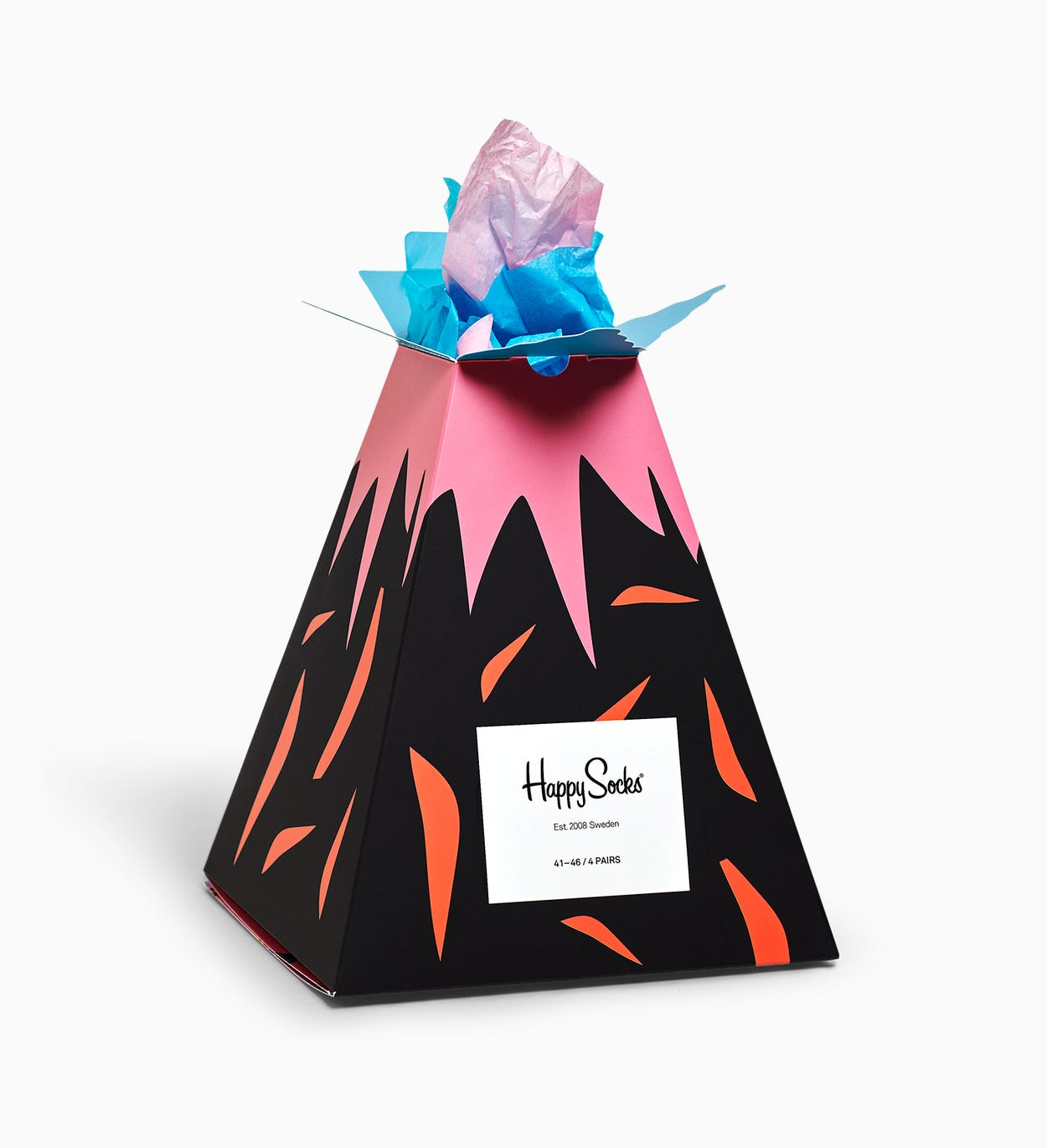 Volcano Gift Box, zwart | Happy Socks