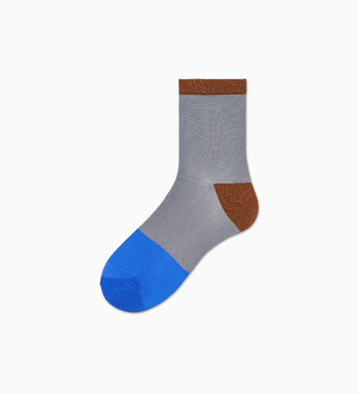 Women's Ankle Socks: Liza - Gray | Hysteria