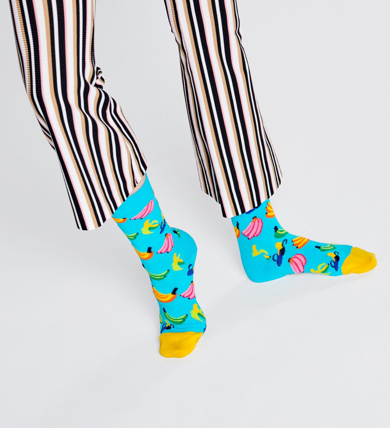 Banana strømper, blå | Happy Socks