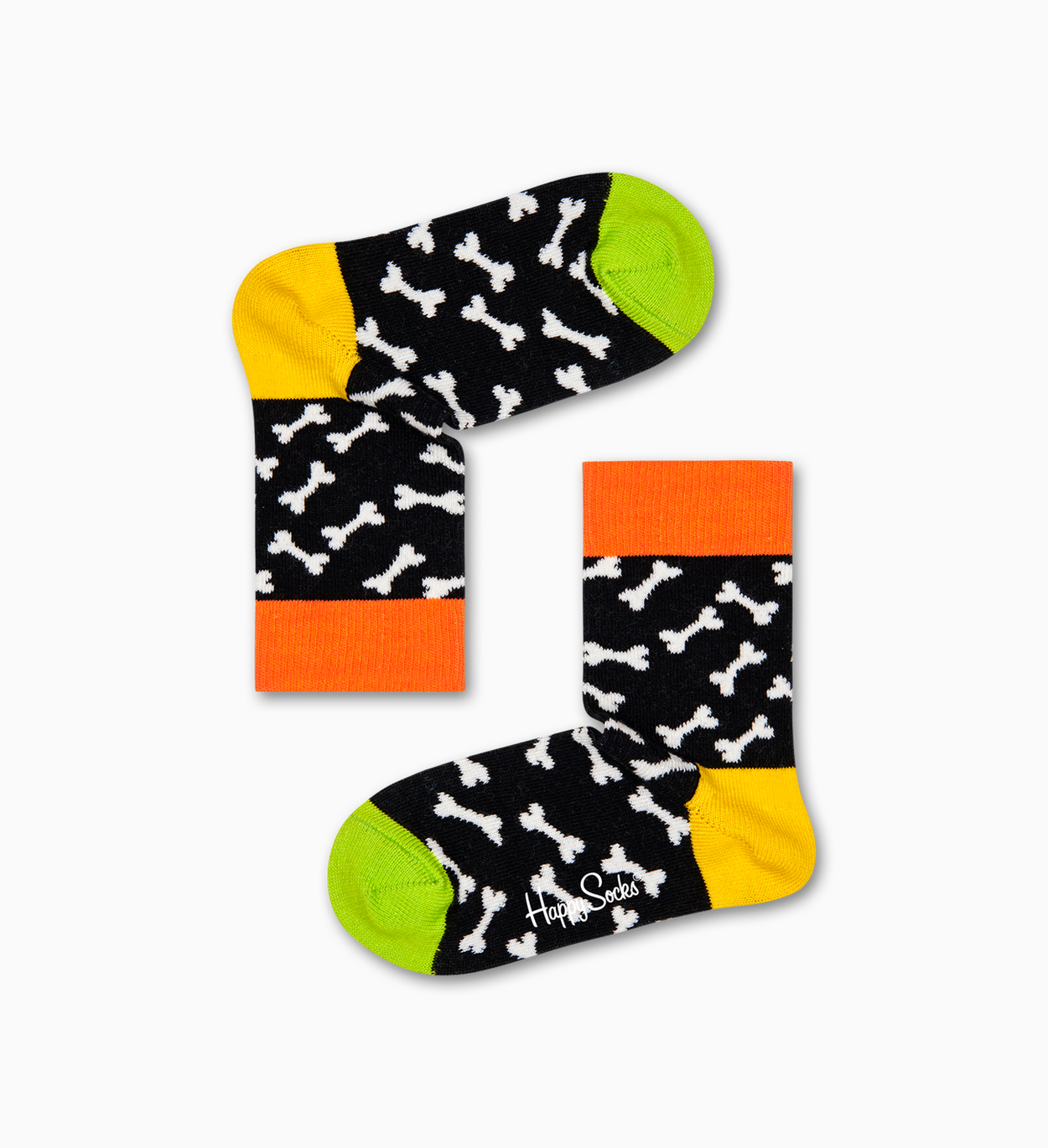 Kids Cats & Dogs Gift Box, Yellow | Happy Socks