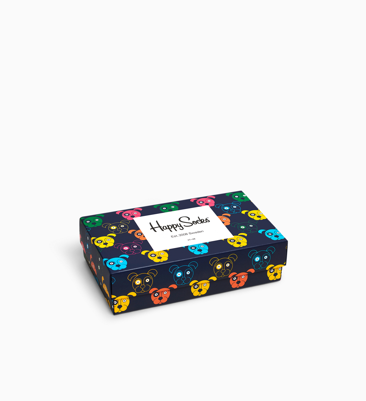 Bunte & Witzige Dog Socks Geschenkbox 3er-Pack | Happy Socks