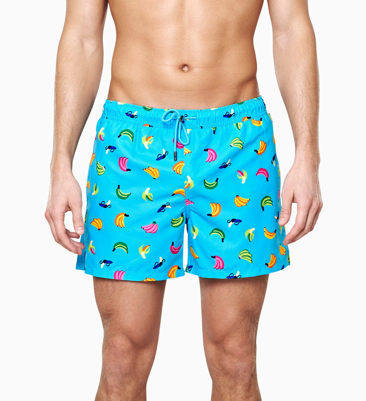 Banana Swim Shorts, Blue | Happy Socks