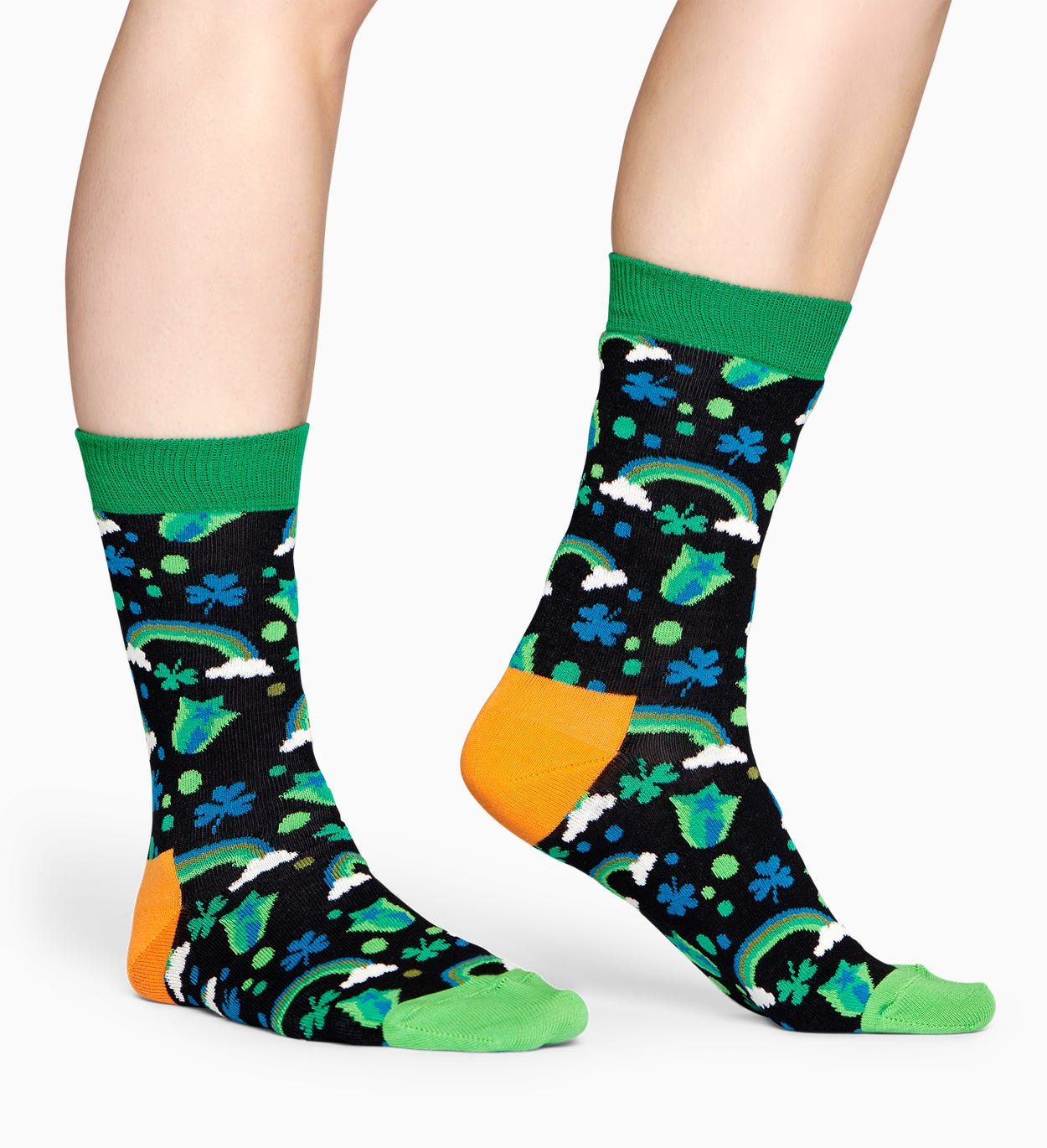 Green Rainbow Sock | Happy Socks