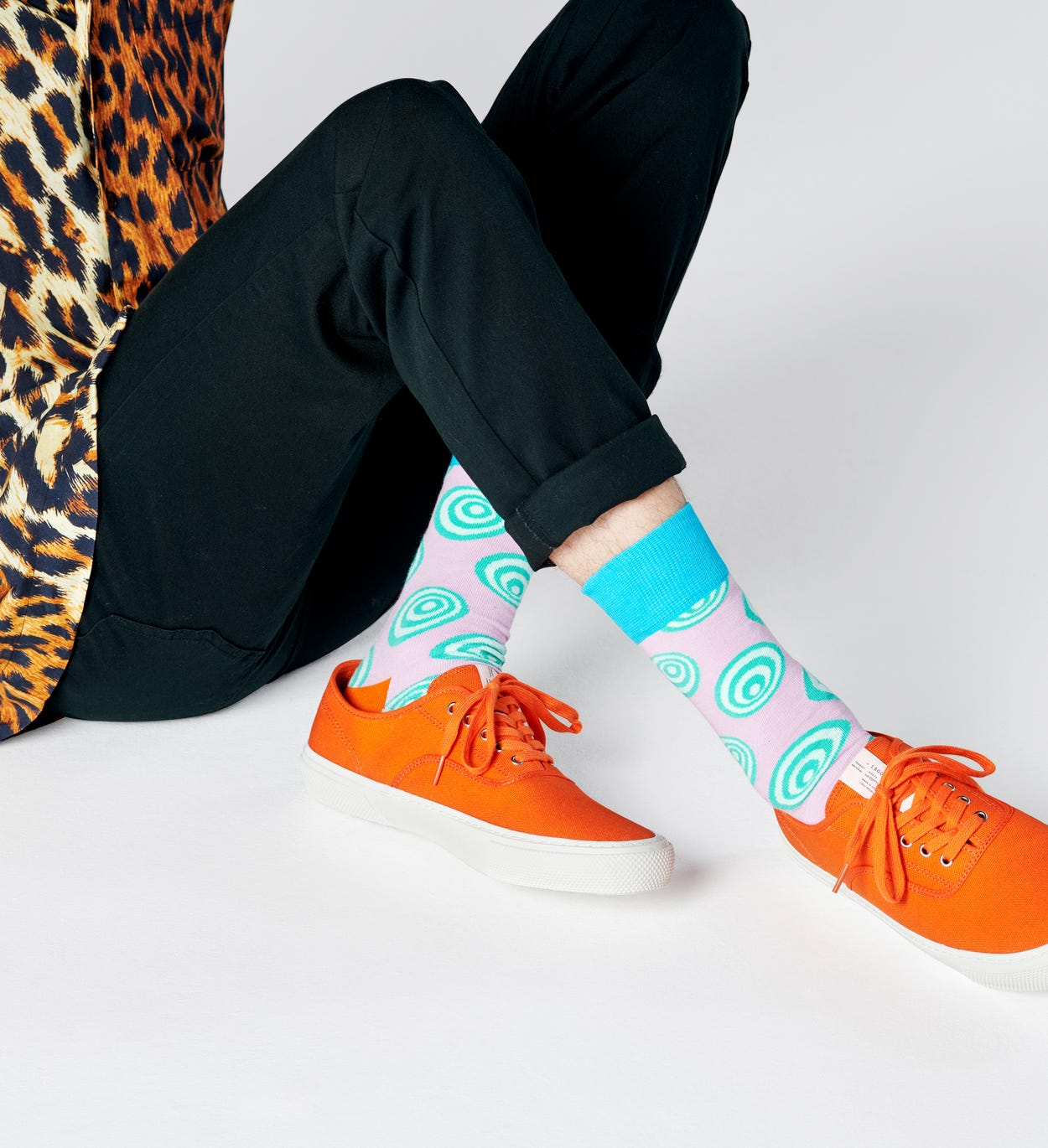 Crazy Dot Socken, Lila | Happy Socks