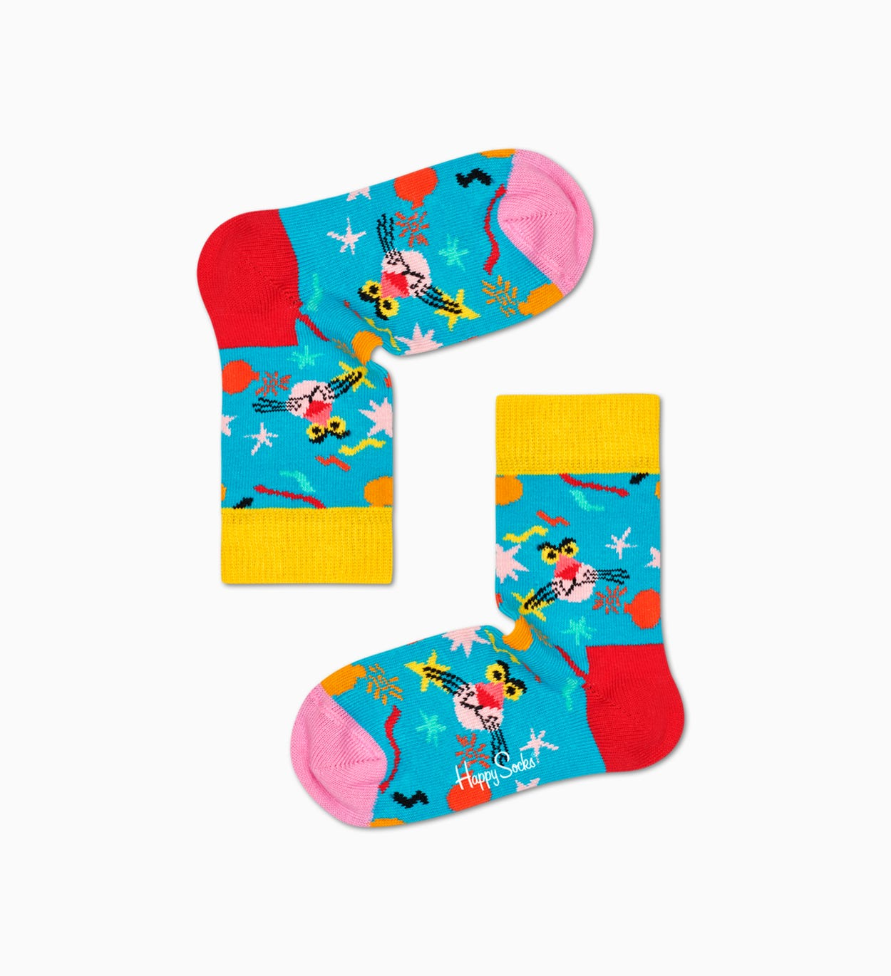 Happy Socks x Pink Panther: Bomb Voyage Kids   Baby Sock