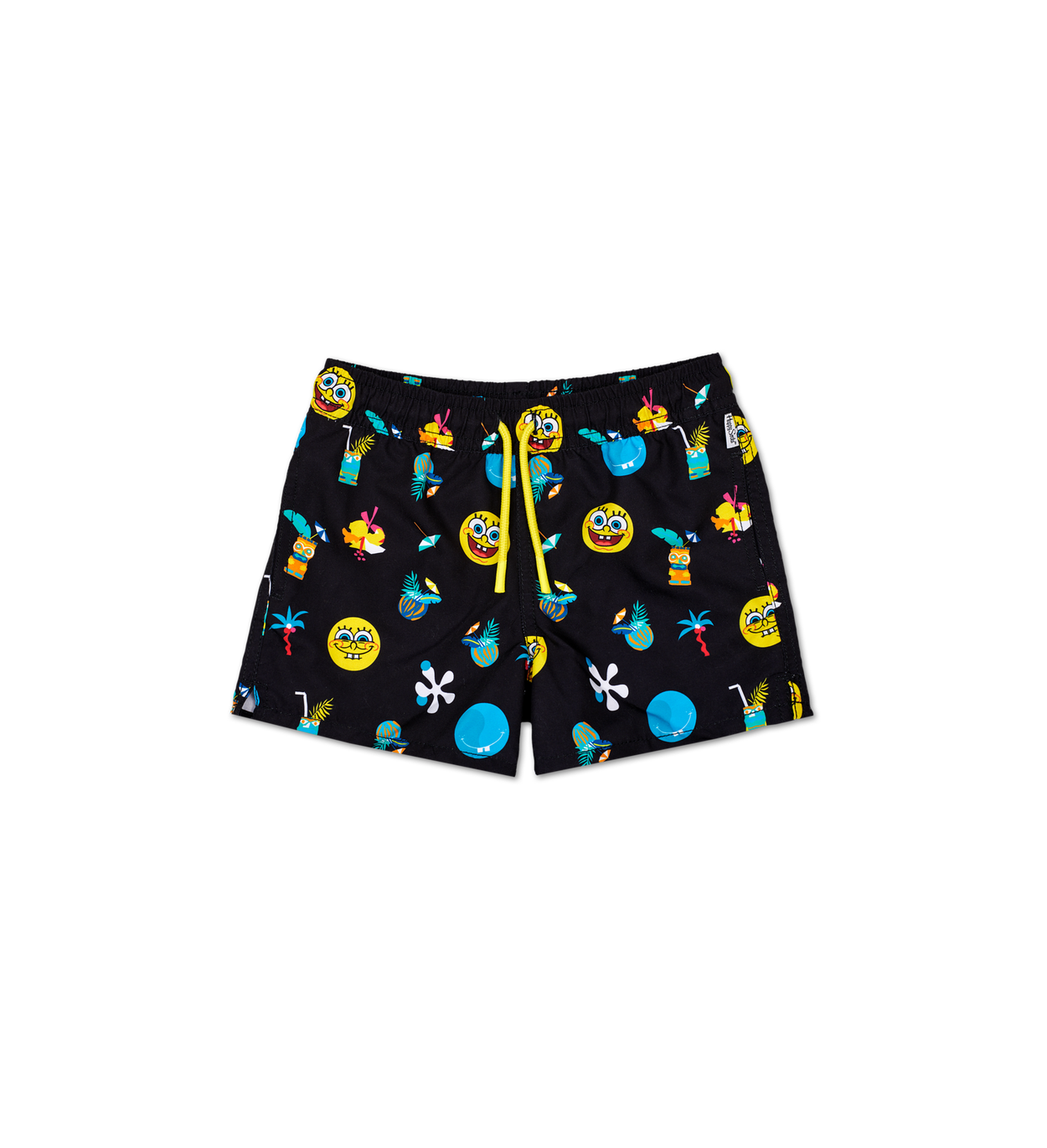 Kids SpongeBob Black Swim Shorts